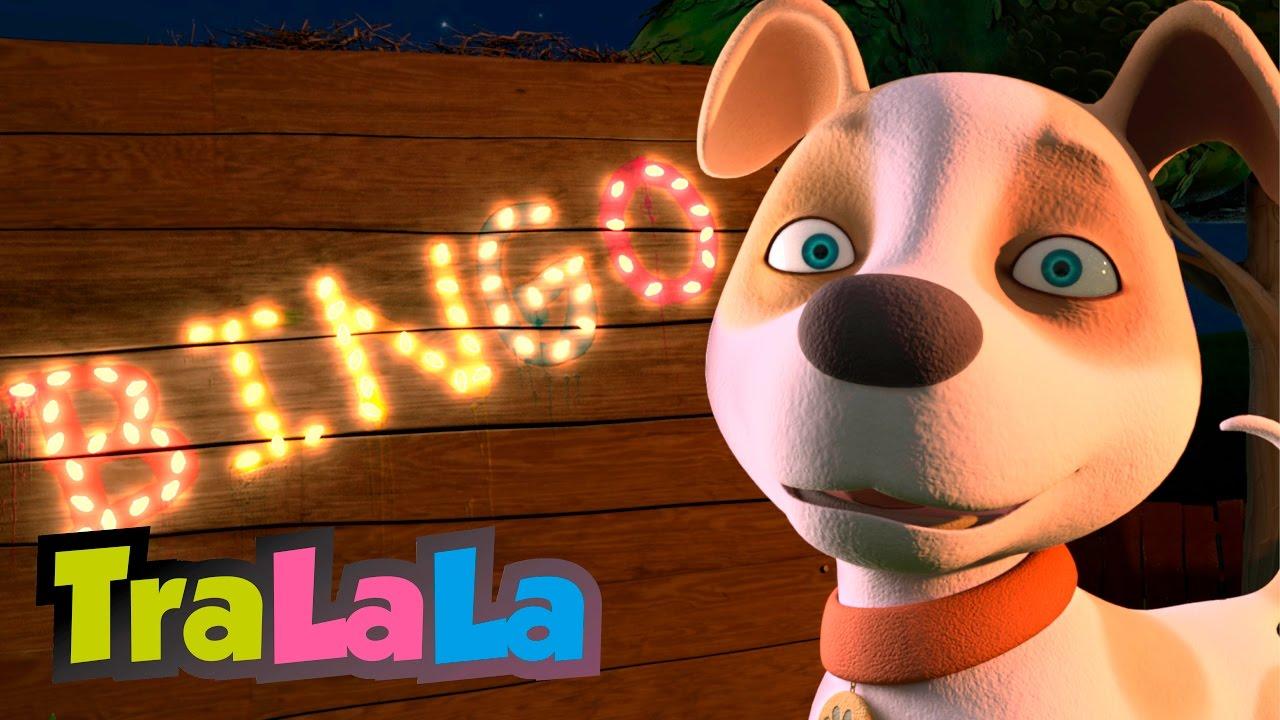 Cățelul Bingo (BINGO în română) - Cântece pentru copii | TraLaLa