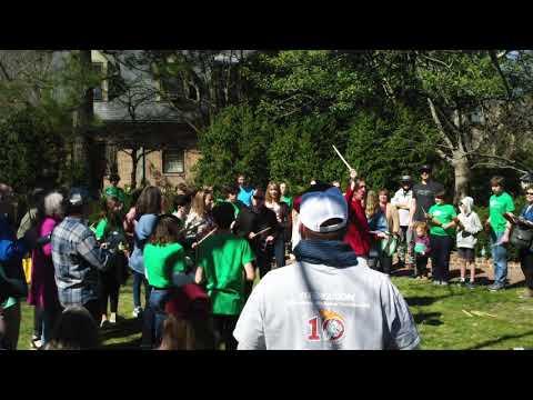 Lance Pedigo feat The Williamsburg Montessori School Samba Band with 2nd Sunday Art Festival Partici