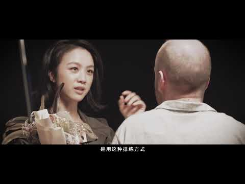 Hitalk-Wei Tang 汤唯沪江Hitalk代言广告拍摄花絮