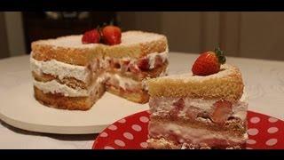 Panela De Barros - Naked Cake De Morango