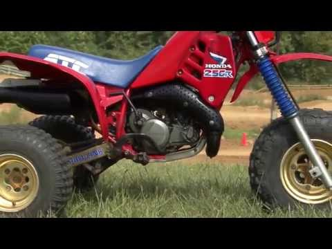 1985-1986 Honda ATC250R Classics Test - YouTube