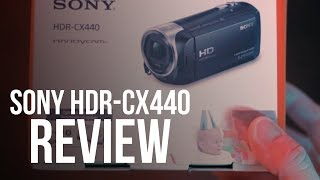 sony HDR CX440 Handycam Review