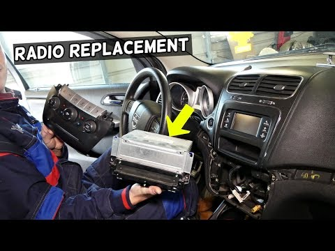 DODGE JOURNEY RADIO REPLACEMENT REMOVAL CD PLAYER FIAT FREEMONT