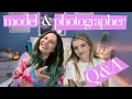 Q & A with Beansiie and Liz Strupat // Fashion Photography, Modeling, Storytime chat!