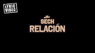 Sech - Relación (Lyric Video)