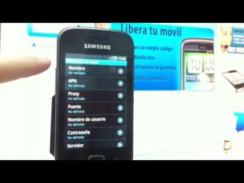 Liberar Samsung S5660 Galaxy Gio, desbloquear Samsung Galaxy Gio de Vodafone - Movical.Net