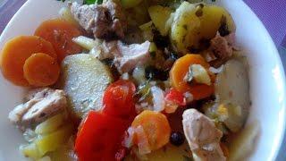 Армянская ХАШЛАМА!Овощное блюдо с мясом тушеное слоями.