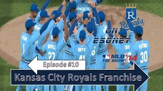 MLB '14: The Show | Kansas City Royals Franchise | Episode 10 | @ Padres