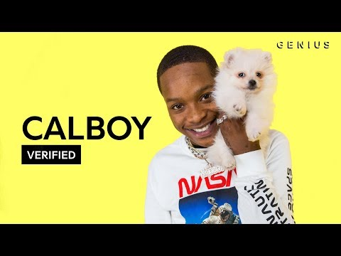 Jamal Smallz - CALBOY VERIFIED VIDEO ON NEW SONG MOONLIGHT