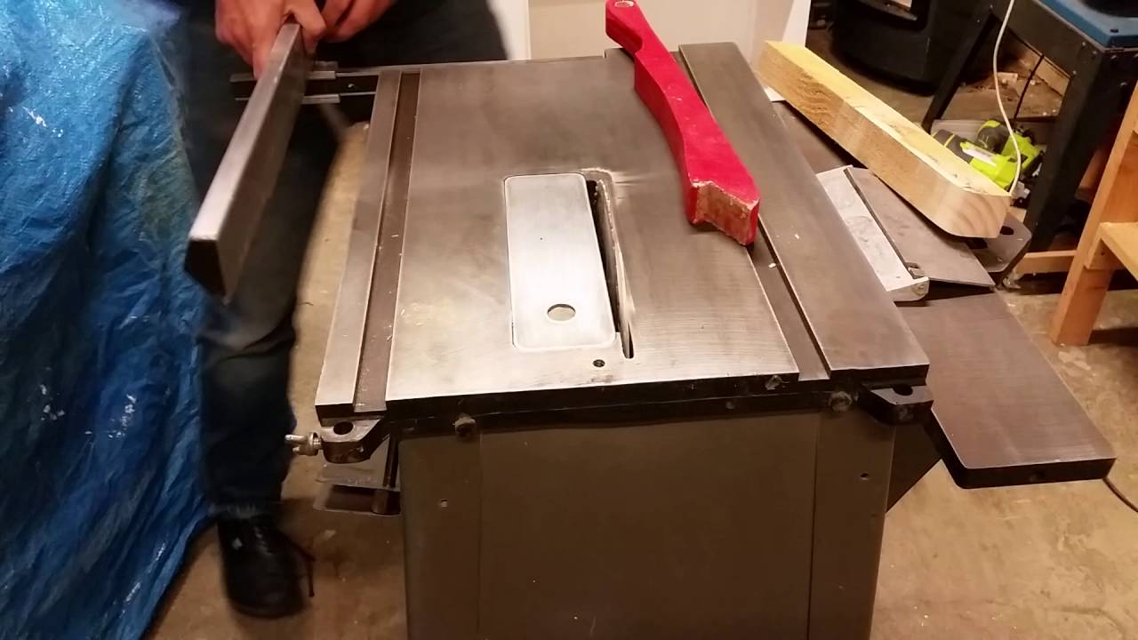 Masport combo table saw in action