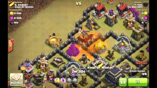 Fin War 2014 vs Kings of Worlds - Clash of Clans