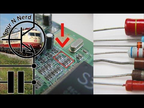 Modelleisenbahn-Elektronik - Teil 9 - Widerstände