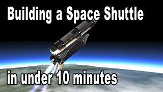 Speed Build: The 10 Minute Shuttle - Kerbal Space Program