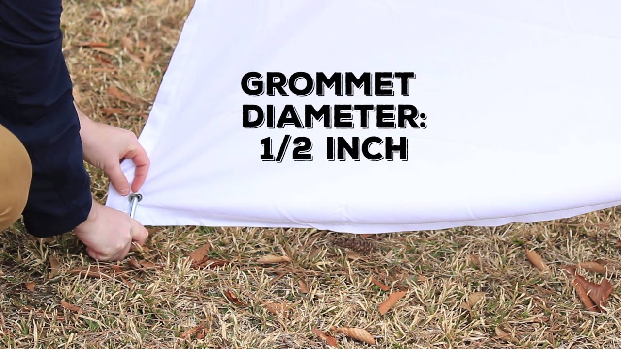 Stablizing Outdoor Curtain Grommets For Wind