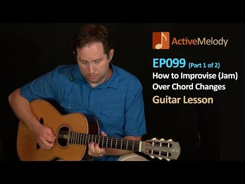 Lead Guitar Lesson - How to Jam (Improvise) Part 1 of 2 – EP099