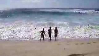 Hawaii Makaha Huge Shore Break!