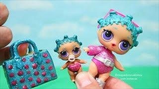 Hatchimals & Bonecas LOL Surpresa - Uma Nova Irmãzinha Lil Sister Para a Cosmic Queen