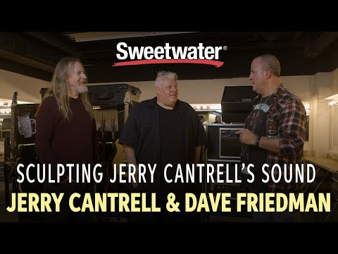 Sculpting Jerry Cantrell's Sound — Interview With Jerry Cantrell And Dave Friedman