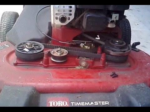 Toro Timemaster 30 inch lawn mower DIY fix for blades not cutting through  tall grass