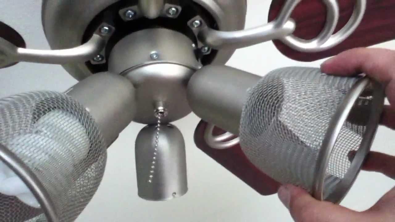medium resolution of hampton bay san marino model ceiling fan installation