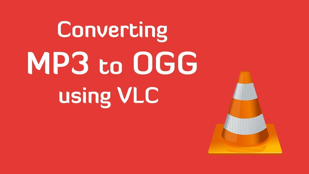 Convert MP3 to OGG using VLC