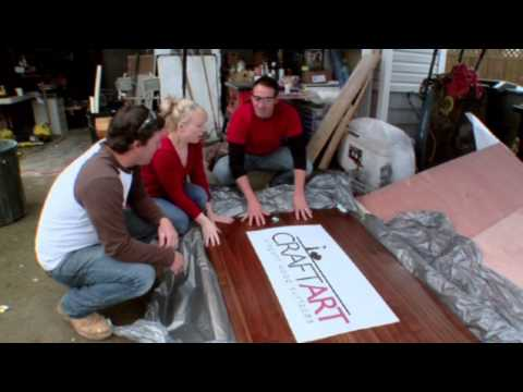 House Crashers - Clip Featuring Craft Art Wood Countertops - Karli & Joe