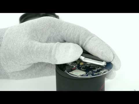 Red Planet SubSonic Bluetooth Speaker Teardown