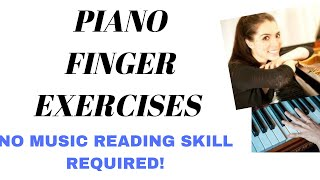 Piano Finger Exercise in C Minor #9