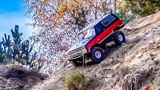 RC Crawler Action! Awesome Chevrolet Blazer with V8 sound!
