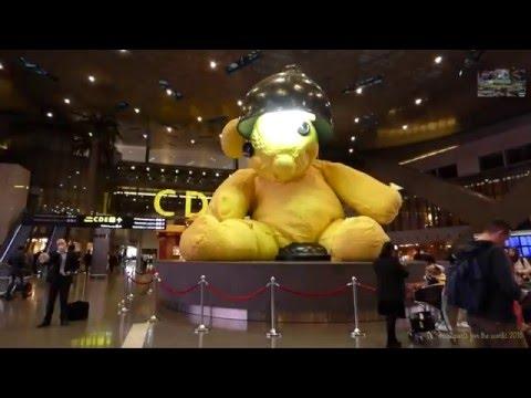 Hamad International Airport Doha Qatar 2016 مطار حمد الدولي الدوحة قطر
