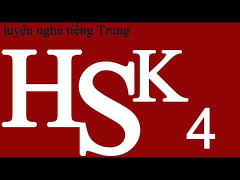 Luyện Nghe Tiếng Trung HSK 4 (thượng) Bài 9   tiếng trung cơ bản   Học tiếng Trung   learn Chinese
