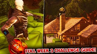 Fortnite: FULL WEEK 3 CHALLENGES GUIDE! | Battle Royale Season 6 TREASURE! Challenge Tips & Tricks!