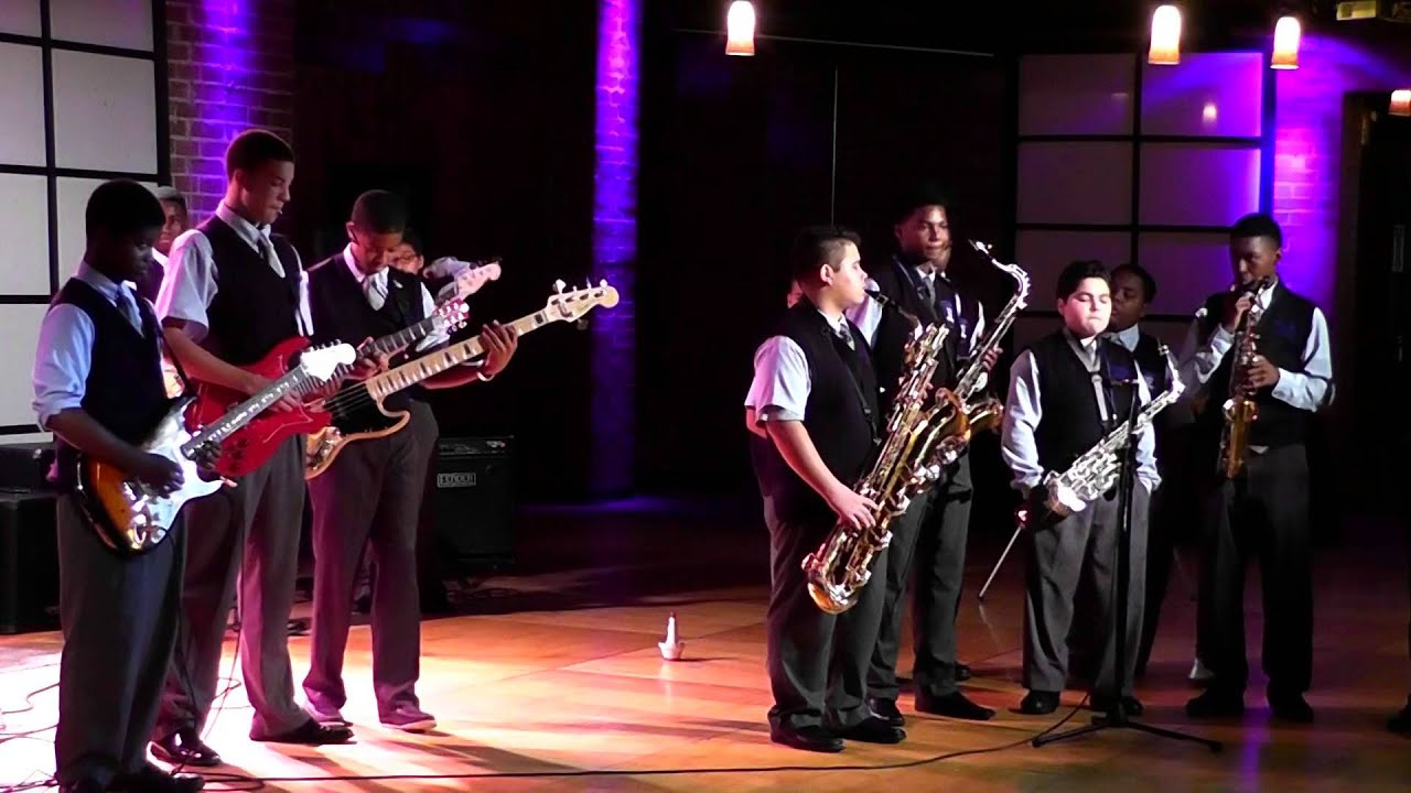 Dallas Isd Night And Day Ronny Jordan Barack Male Leadership Academy Jazz Band