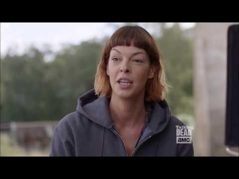 Talking Dead  Pollyanna McIntosh Jadis on Rick's refusal to help her