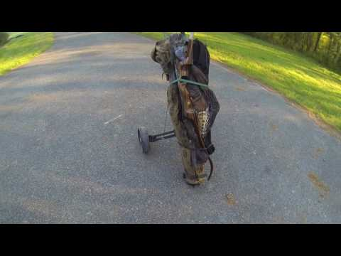 Double Bull Blind Cart from Golf Bag Cart