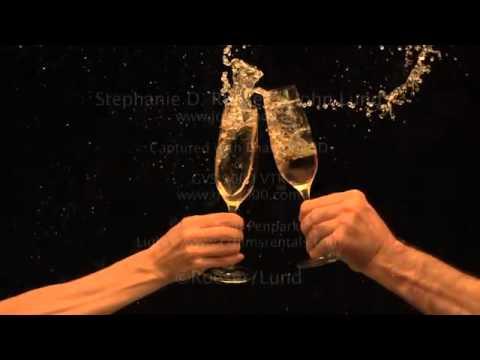 splashing champagne toast mov youtube