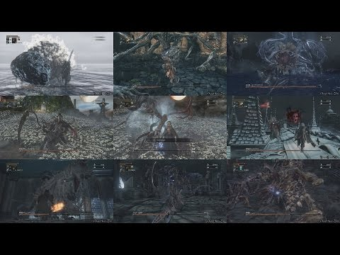 ブラッドボーン(Bloodborne) - 全ボス戦・ノーダメージ 動画集/No Damage Boss Battles Collection(New Game)