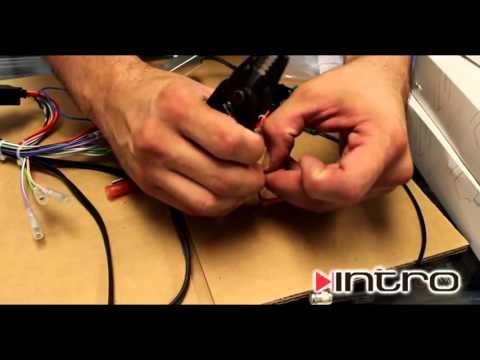 Установка магнитолы 2 DIN в AUDI A6