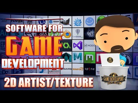 Free Professional Game Development Software-For 2D & Texture Artist-Game Dev Republic