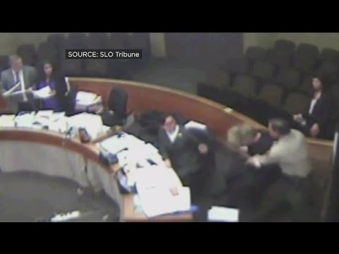 California Deputy Attorney General Tackled By Bailiff In Courtroom