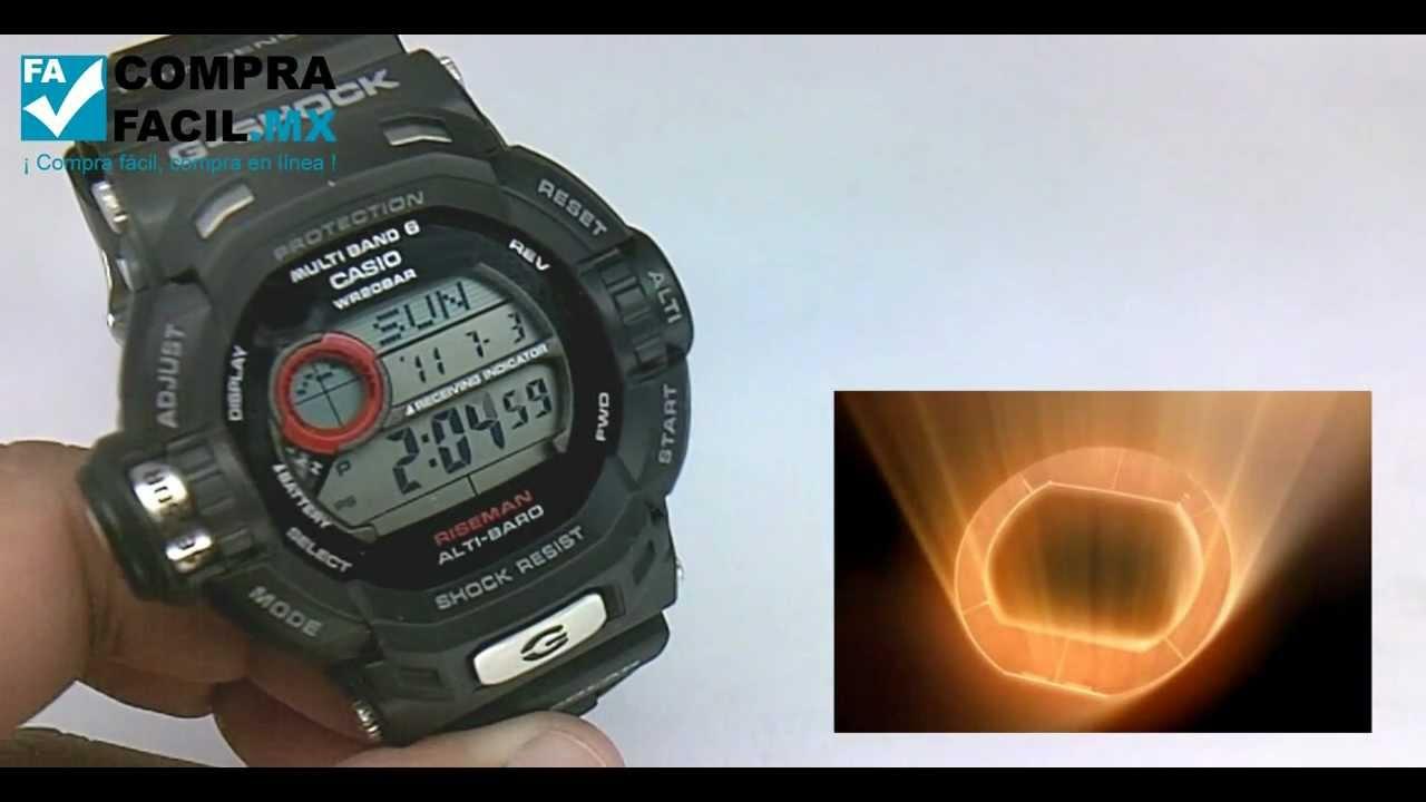 Reloj Riseman mx Casio Gw9200 G Shock Comprafacil BthdsCQrxo