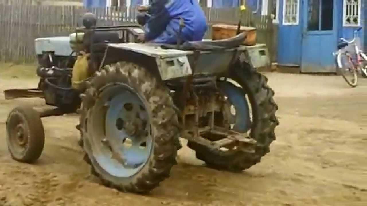 Делаем минитрактор: описание трактора, чертежи, фото 62