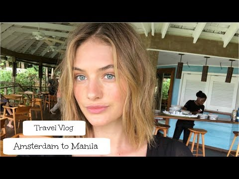 Traveling from Amsterdam to Manila!