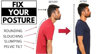 How to Fix Your Body Posture (No More Slouching!)