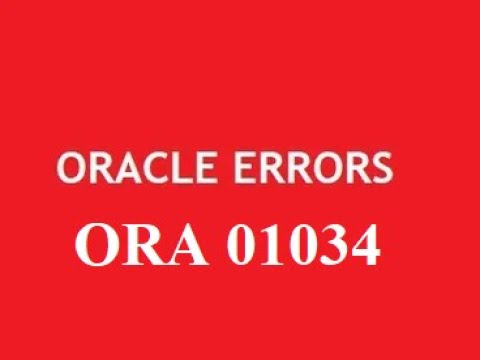 #2-Error ORA-01034: ORACLE not availableORA-27101: shared memory realm does not exist