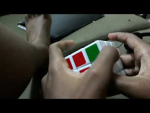 I solved this rubiks cube in under 40 seconds