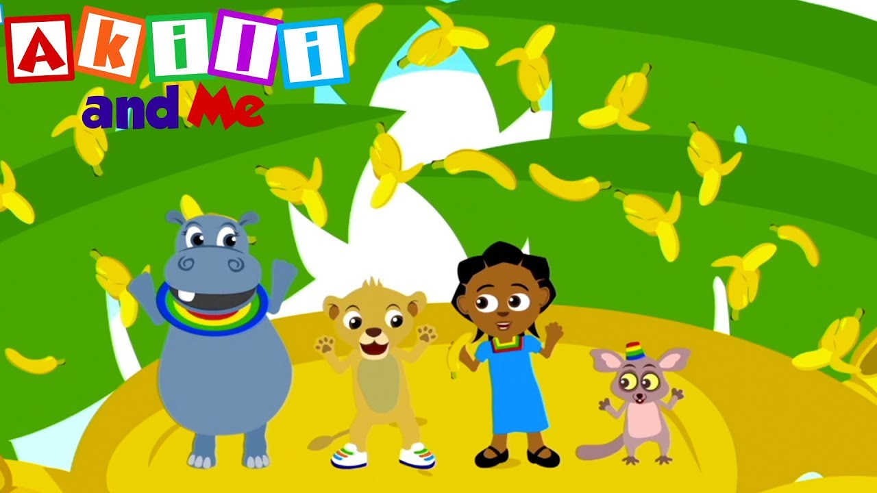 Sing the Banana Song | Akili and Me | Cartoons or Preschoolers