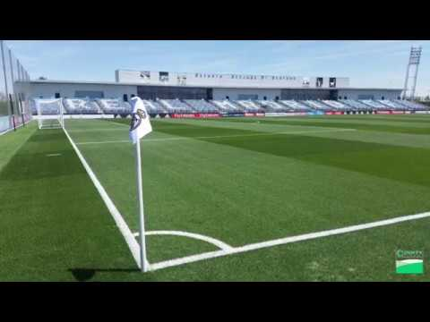 Real Madrid Hero Hybrid Grass Installation