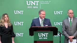 $30M Geschenk – größte in UNT Geschichte – erstellt G. Brint Ryan, College of Business