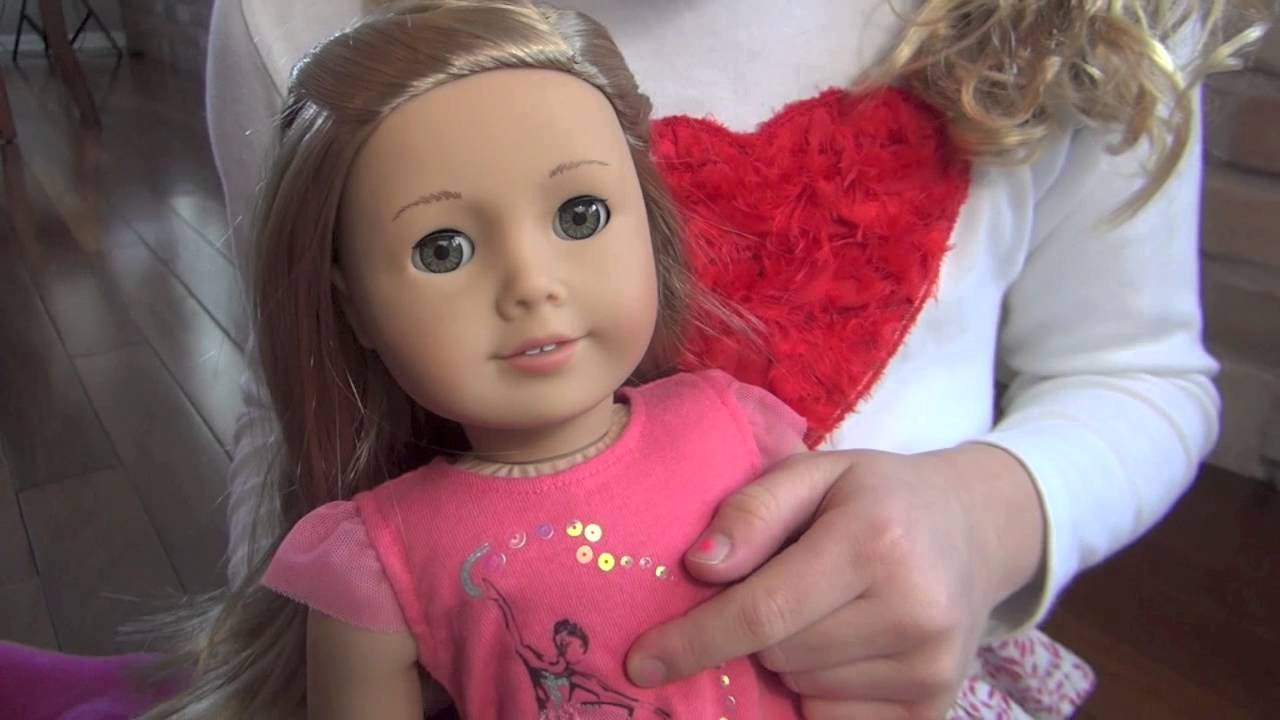 American Girl Of The Year Isabelle Palmer Youtube